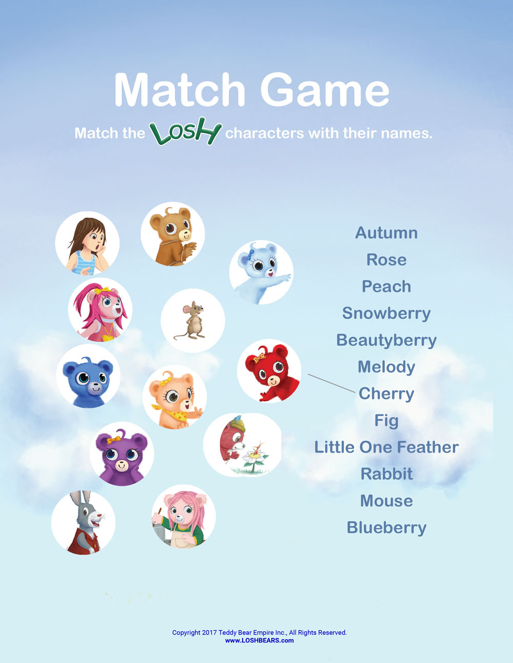 Losh match game 2